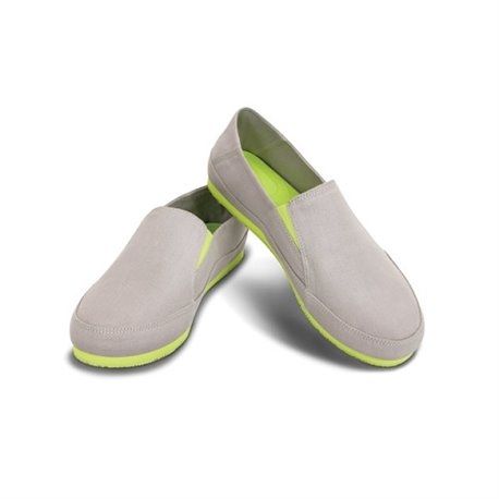 Espadrilla Slip On M Gray / Green Crocs Ocean Minded