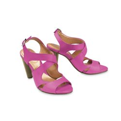 Paigey Heel Pink You by Crocs