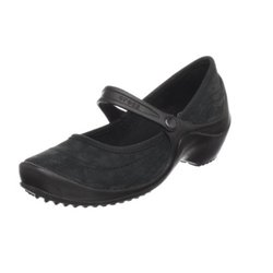 Wrapped Wedge Women Crocs Black