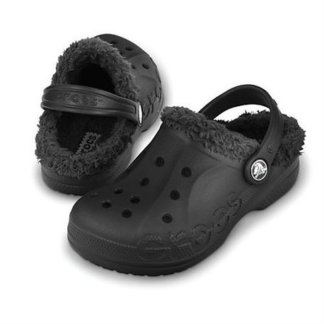6fa071cd6fd20 Baya Lined (Kids) Crocs Black - iNavigate.ca