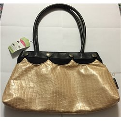 Contemporary Handbag w/ Beige Attachment