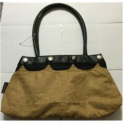 Contemporary Handbag with free Beige Attachment