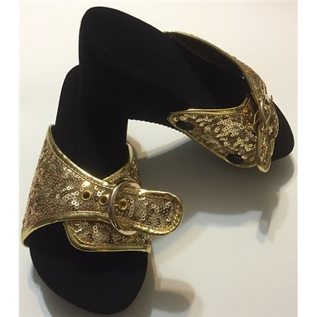 Classic Sole - Black with free gold top