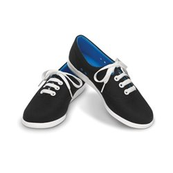 LoPro Long Vamp Plim Sneaker Crocs Black/Blue